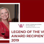 Australian Gastronomic Icon, Lyndey Milan wins Prestigious Legend of the Vine Award