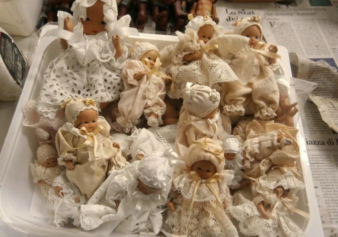 Bambole in terracotta - Mangiafuoco officina d'arte e artigianato - Ravenna