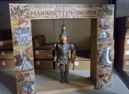 L'Orlando Furioso marionetta - Mangiafuoco officina d'arte e artigianato - Ravenna