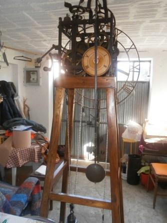 L'orologio a 6 ore recuperato da Francesco