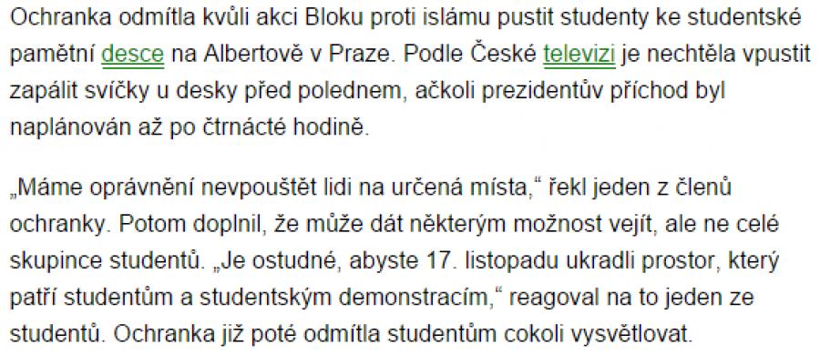 Výřez článku (idnes.cz, výřez Roman Máca)