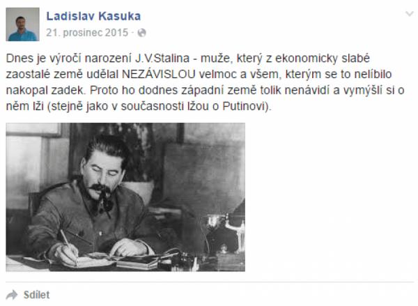 Stalin poprvé (facebook.com)