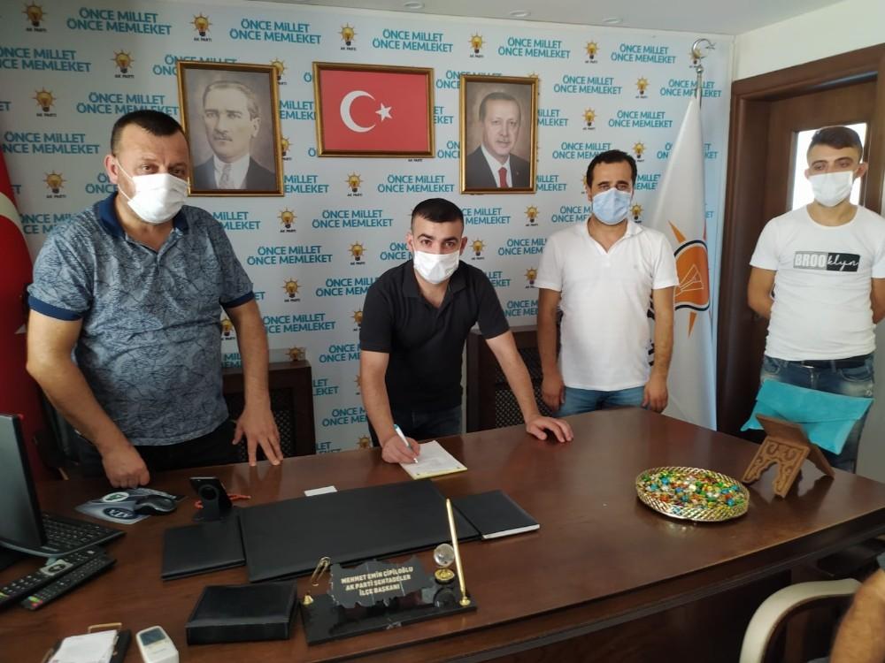 AK Parti Şehzadeler üye kayıt çalışmalarını hızlandırdı