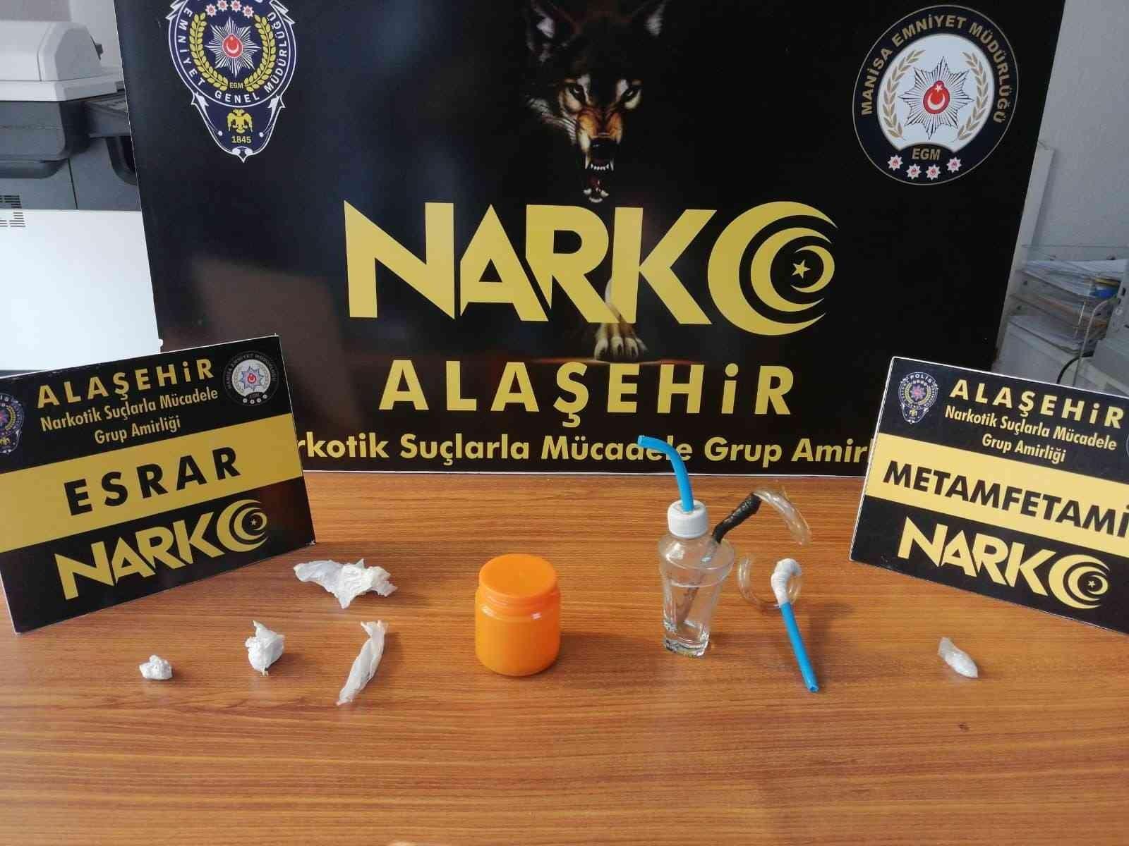 Uyuşturucu operasyonlarında 4 kişi gözaltına alındı