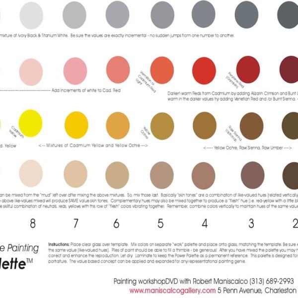 power palette 11x17