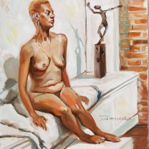 Nude with Sculpture