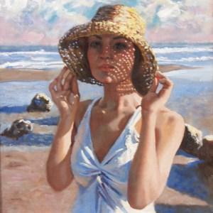 Alexandra on the Beach