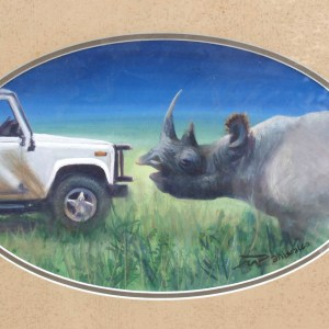 Rhino vs Landrover