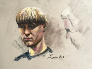 Dylann Roof during Jury selection