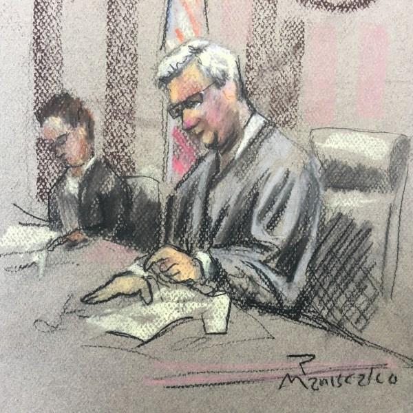 Judge Gergel at Roof Trial