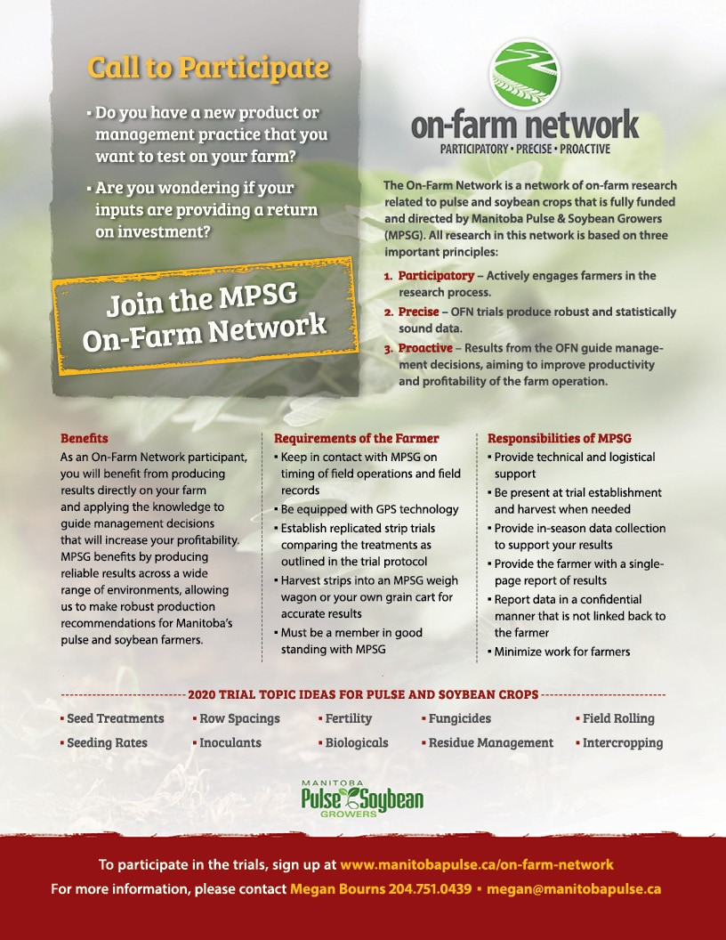 2020 On-Farm Network Bulletin