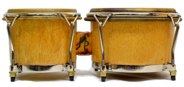 Palmetto wood bongos