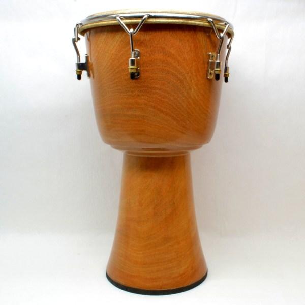 Bleackened Lenke wood djembe