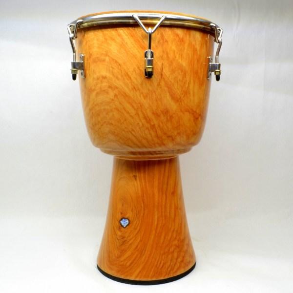 Rosy Lenke wood djembe