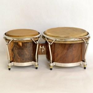 spalted walnut bongos