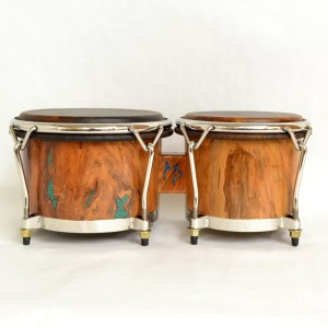 wild cherry burl bongos