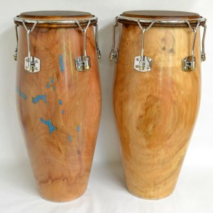solid shell sycamore congas