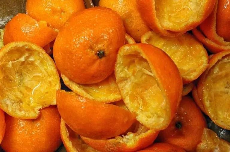 cara memutihkan wajah dengan kulit jeruk