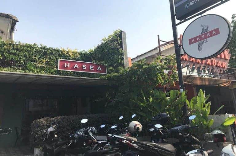 tempat nongkrong di bintaro hasea eatery