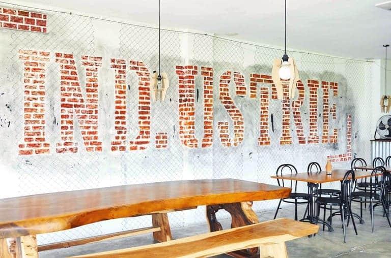 tempat nongkrong di bintaro industrie kafe kekinian