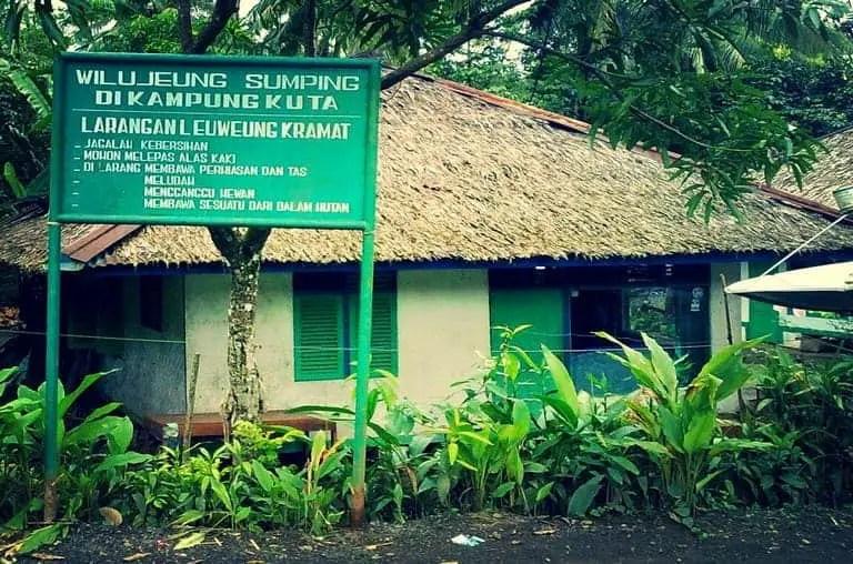 tempat wisata ciamis kampung adat kuta