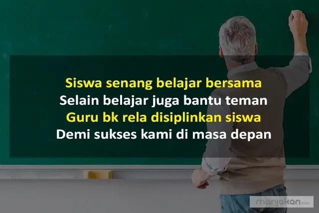 Pantun Untuk Guru BK