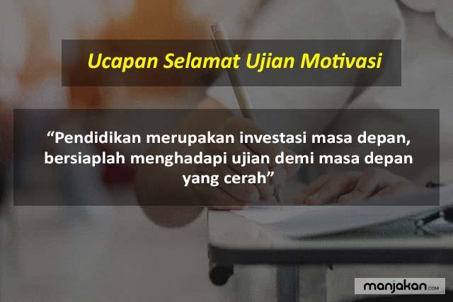 Ucapan Selamat Ujian Motivasi