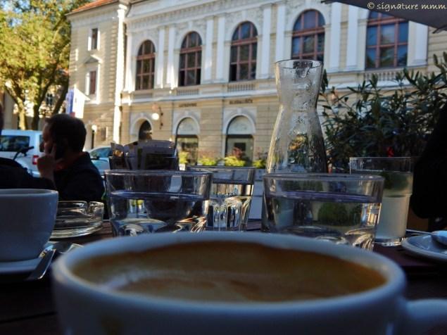 Ljubljana Puppet Theatre and good coffee at Čokl.