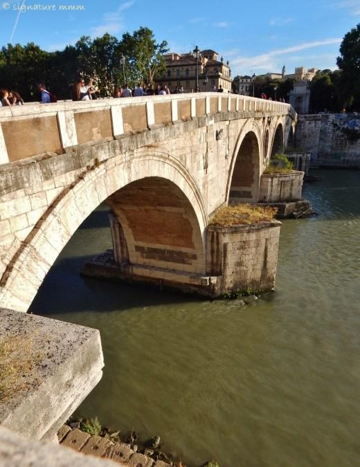 The Tiber in the sun...