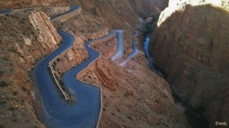 Dades River Gorge.