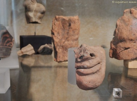 A little mysterious Etruscan smile.