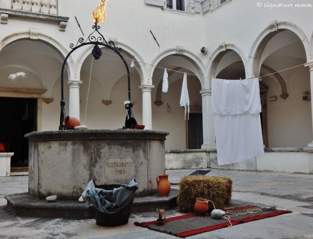 Such as this take on Nativity Scene in Piran Minorite Monastery.