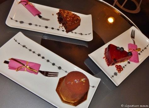 """Sweets in """"Lolita"""", Ljubljana."""