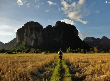 To the caves of Vang vieng.
