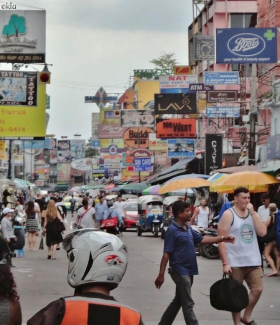 Khao San Road, BKK.