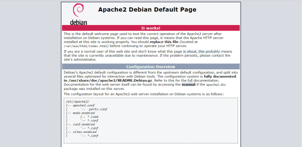 install LAMP Server on Debian 8