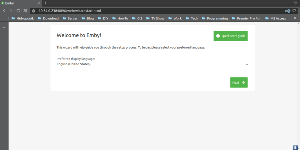 How to install Emby Server, free multimedia streaming server