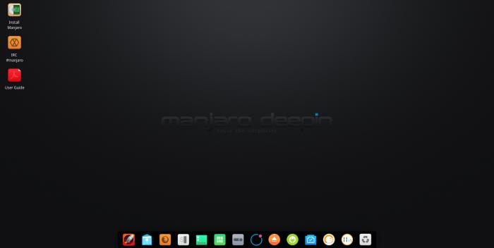 manjaro deepin 17.0.4 screenshots