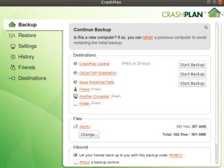 download crashplan backup for linux