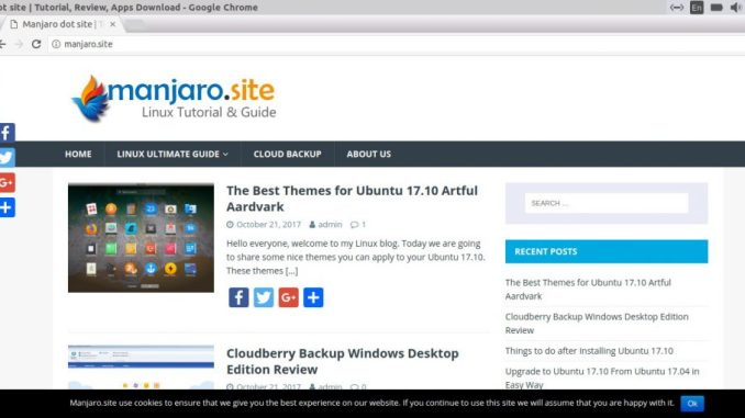 How to Install Google Chrome on Ubuntu 17 10 Artful Aardvark