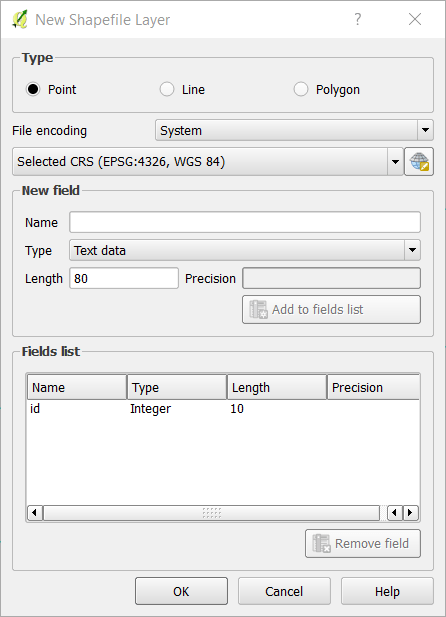 QGIS Tutorial - How to create new shapefile layer on QGIS