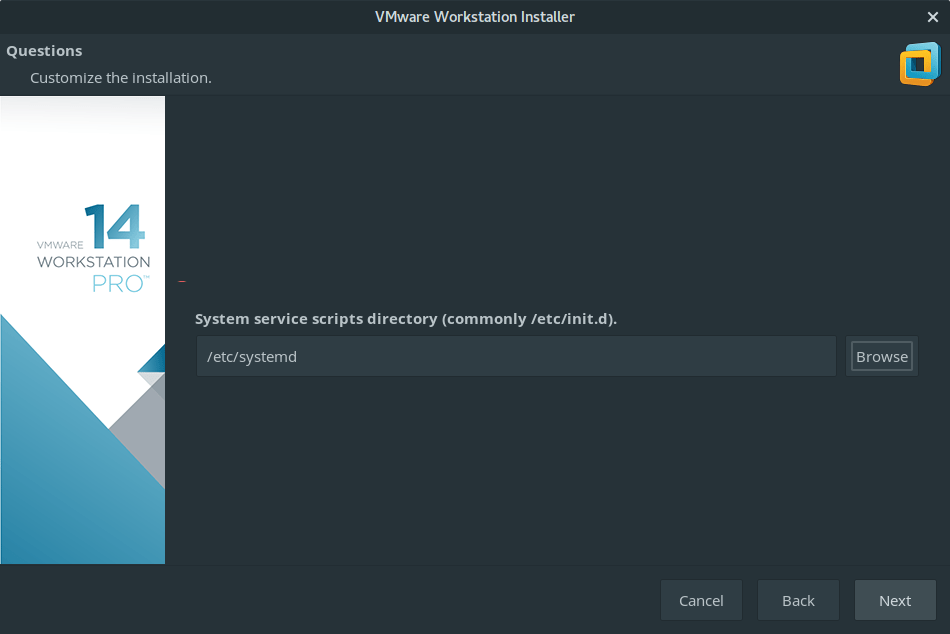 install vmware workstation manjaro 4