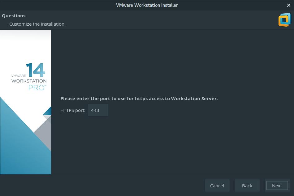 install vmware workstation manjaro 9