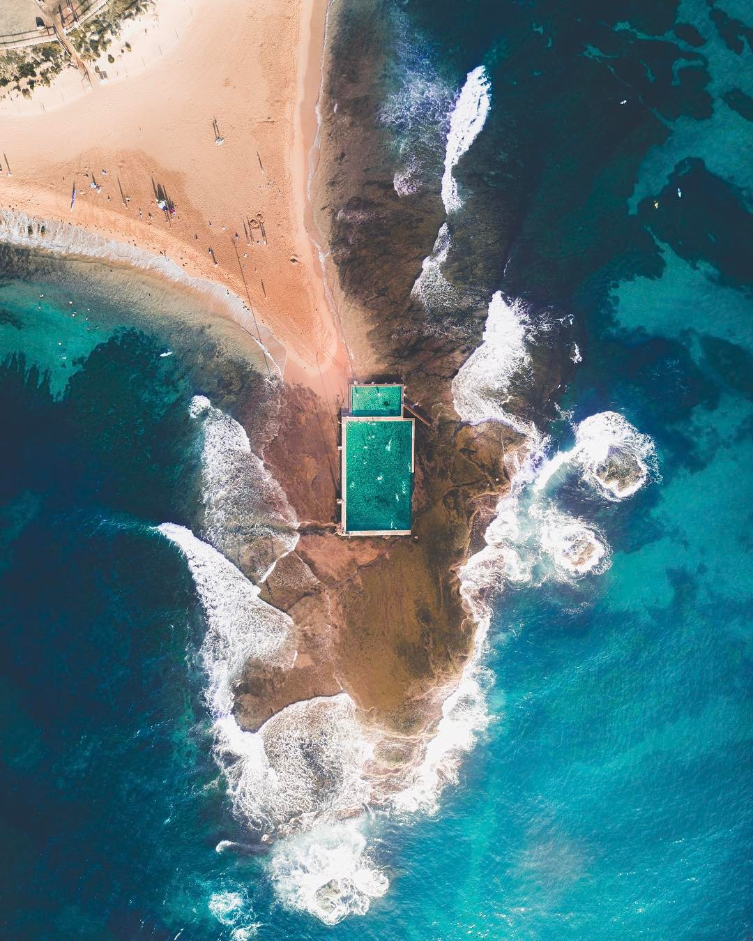 beach photography by drone 5