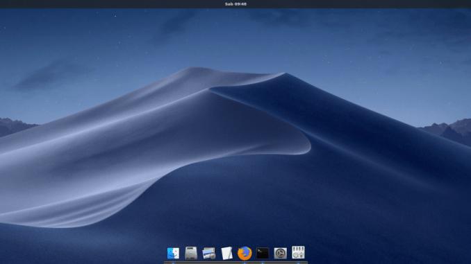 How to Make Ubuntu 18 10 Looks Like Mac OS X Mojave