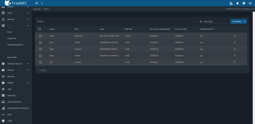 FreeNAS 11 2 - Perfect OS for Home Server | Manjaro dot site