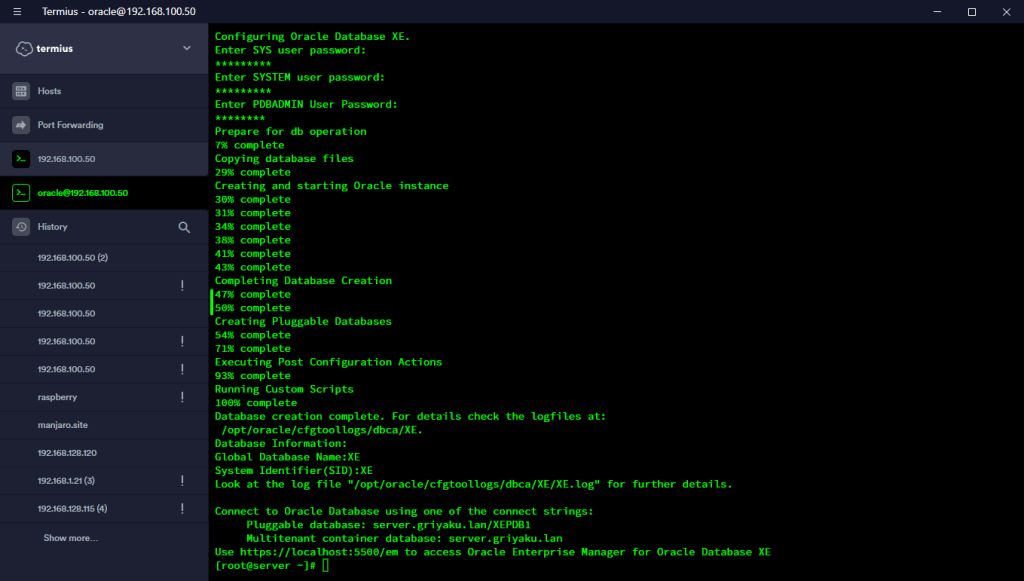 Step by step Installing Oracle Database 18c on Oracle Linux