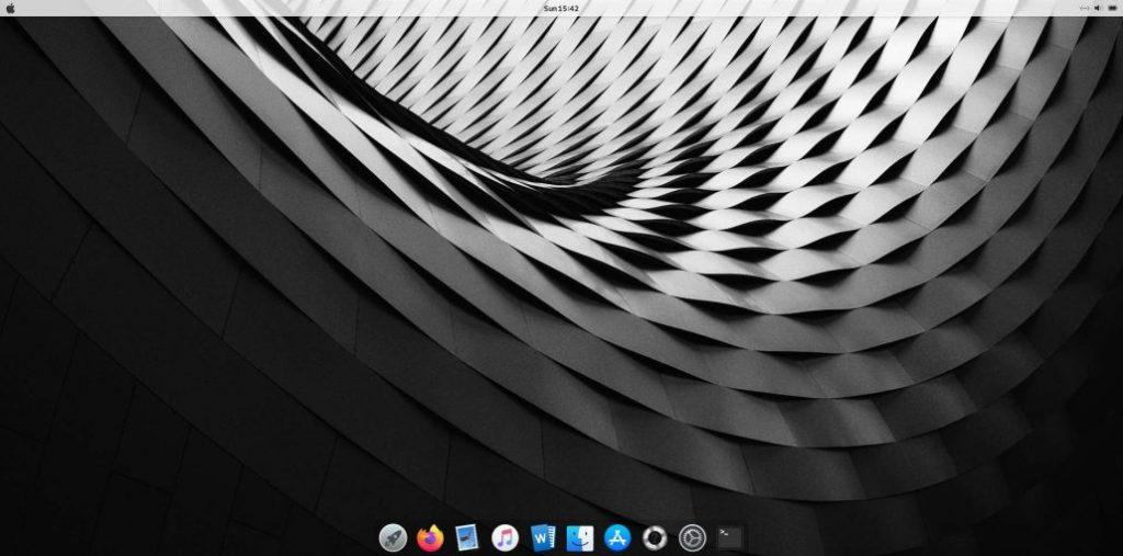 Make Debian 10 Looks Like Mac OS X Mojave