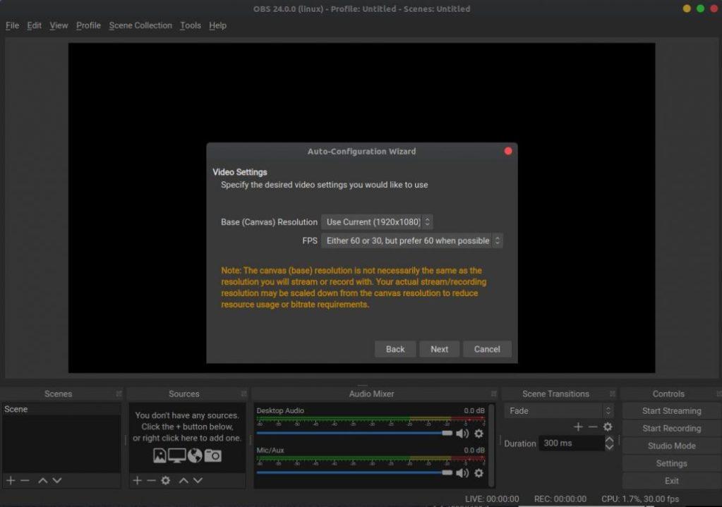 Install OBS Studio on Ubuntu