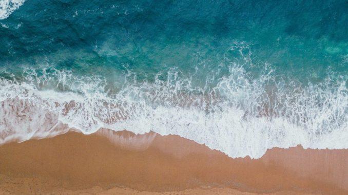 blue body water